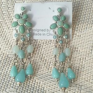 Lc post earrings